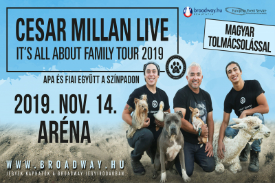 Cesar Millan - It's All About Family Tour 2019