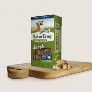 Happy Dog NaturCorq Lamm&Reis Snack