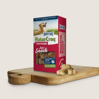 Happy Dog NaturCroq Truthahn Mini Snack