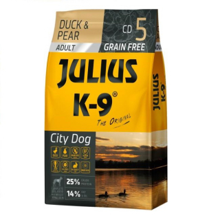 JULIUS-K9 City Dog Kacsa körtével - Adult