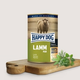 Happy Dog Lamm Pur